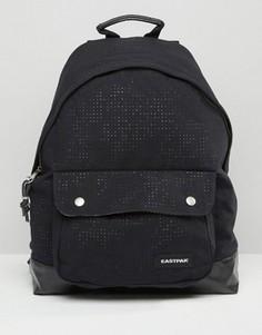 Черный рюкзак с перфорацией Eastpak PakR - Черный