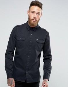 Рубашка в стиле милитари Firetrap - Черный