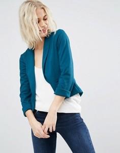 Пиджак из ткани понте с шалевым воротником ASOS - Зеленый