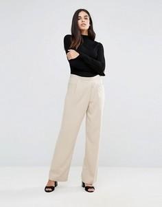 Прямые брюки Vila - Коричневый