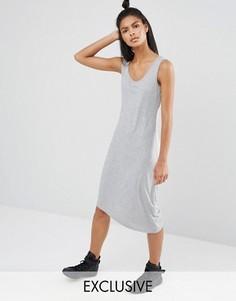 Серое трикотажное платье Nocozo - Серый