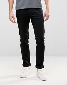 Черные узкие джинсы Nudie Thin Finn - Черный