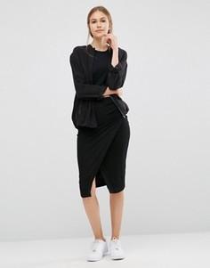 Облегающая юбка Just Female Picnic - Черный