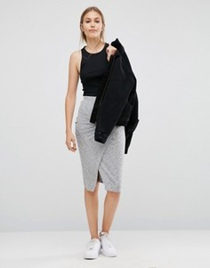 Облегающая юбка Just Female Picnic - Серый