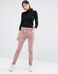 Черные зауженные джинсы антифит Vero Moda - 34 - Розовый