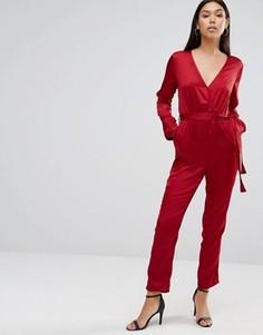 Комбинезон с длинными рукавами Wyldr Sophie - Красный