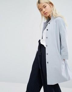 Oversize-куртка с рукавами в стиле кимоно Native Youth - Серый