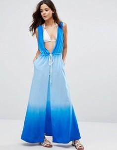 Пляжное платье с эффектом омбре Echo - Синий
