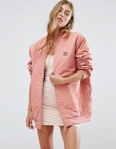 Свободная стеганая куртка-пилот adidas Originals - Мульти