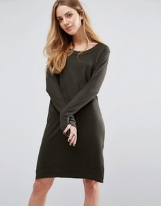 Платье-джемпер Blend She Camille - Зеленый