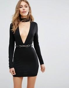 Черное платье Majorelle Night Hawk - Черный