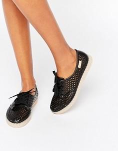 Эспадрильи со шнуровкой Zaxy - Черный