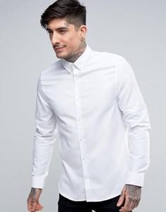 Узкая рубашка Ben Sherman - Белый