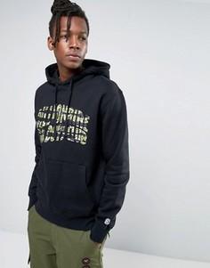 Худи с логотипом и камуфляжным принтом Billionaire Boys Club - Черный