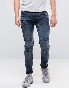 Стретчевые джинсы слим G-Star - Черный