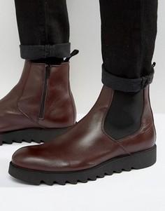 Кожаные ботинки челси Zign - Красный