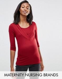 Топ для кормления Mamalicious Maternity Karry - Красный Mama.Licious