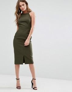Платье-сарафан миди Alter - Зеленый