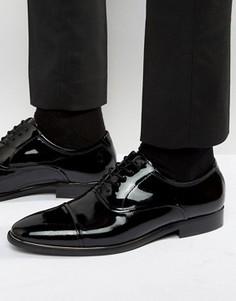 Лакированные оксфордские туфли ALDO Gaville - Черный