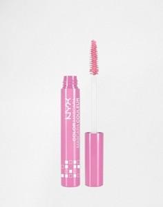 Цветная тушь для ресниц пастельных оттенков NYX Professional Make-Up - Фиолетовый