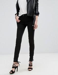 Супероблегающие джинсы с завышенной талией Replay Joi - Черный
