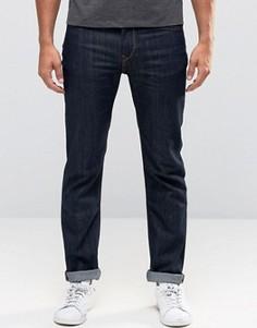 Темные узкие джинсы стретч Lee Rider - Синий