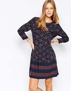 Цельнокройное платье с цветочным принтом Esprit - Мульти