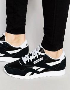 Нейлоновые кроссовки Reebok CL 6604 - Черный