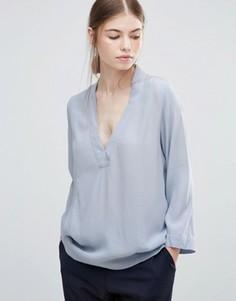 Блузка Just Female Lola - Синий