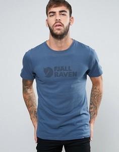 Синяя футболка Fjallraven - Синий