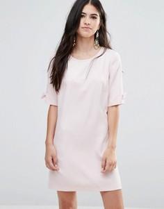 Цельнокройное платье Traffic People - Розовый