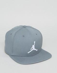Серая бейсболка Nike Jordan Jumpman 619359-067 - Серый