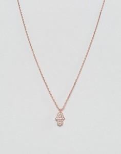 Позолоченное ожерелье Nylon - Золотой