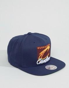 Бейсболка Mitchell & Ness Cleveland Cavaliers - Темно-синий