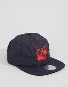 Бейсболка Mitchell & Ness NY Rangers - Темно-синий
