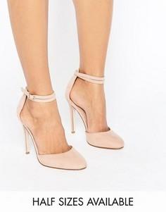Туфли на высоком каблуке ASOS PLAYDATE - Бежевый