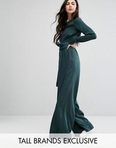 Комбинезон в стиле oversize Waven Tall - Зеленый