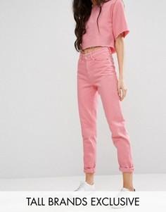 Свободные джинсы в винтажном стиле Waven Tall - Розовый