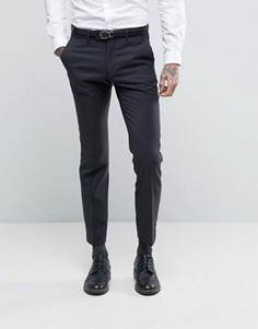 Ben Sherman Slim Fit Pin Dot Suit Trousers - Серый