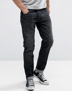 Светло-синие эластичные облегающие джинсы Solid - Синий