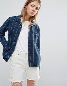 Куртка в полоску Bethnals New Tommy - Синий