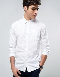 Рубашка классического кроя из выбеленного хлопка Bellfield - Белый