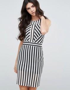 Облегающее платье в полоску Love & Other Things - Мульти