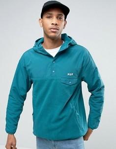 Флисовая куртка через голову HUF - Синий