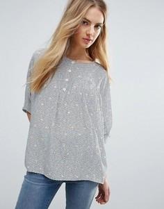 Шелковая блузка M.i.H Jeans Zodiac - Мульти