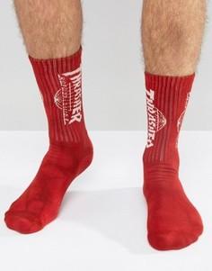 Носки HUF x Thrasher - Красный