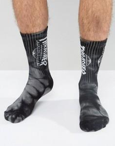 Носки HUF x Thrasher - Черный