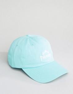 Бейсболка с вышивкой логотипа HUF x Thrasher - Зеленый