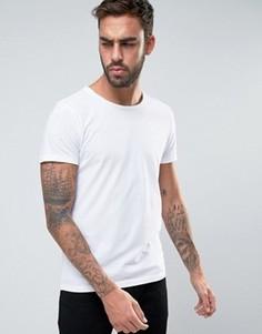 Белая футболка классического кроя BOSS Orange by Hugo Boss - Белый