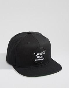Бейсболка Brixton Wheeler - Черный